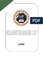 Reglamento de Admision 2017 Corregido Hym.