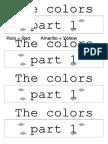 color 1° trazos