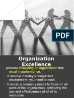 Organization Excellence
