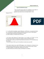 Ejercicios Distribución Normal_U1
