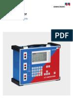 CT Analyzer User Manual ESP