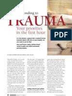 Responding to Trauma