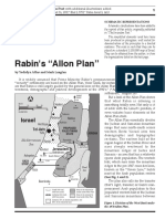 Rabin's Allon Plan