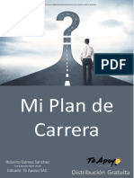 e Book Mi Plan de Carrera