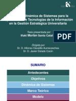 Modelo Dinámica de Sistemas
