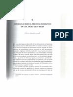 2017 Mesia Estudios Sobre El Periodo Formativo en Los Andes Centrales