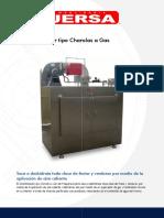 Deshidratador Tipo Charolas a Gas