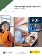 Panorama de La Educación 2015 Ocde