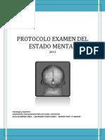 Protocolo de Entrevista Mental