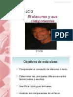 Clase Discurso y Componentes Ppt