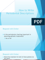 howtowriteperiodontaldescriptions