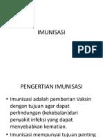 Materi Penyuluhan Imunisasi