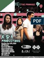 UB Korean Culture Night 2010 [Program Booklet]