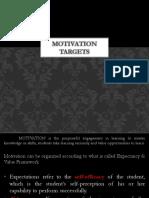 3 Motivation TARGETS