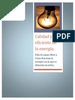 Calidad y Uso Eficiente de La Energía
