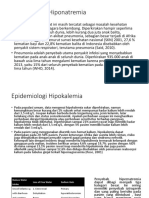 Epidemiologi Dan Etiologi