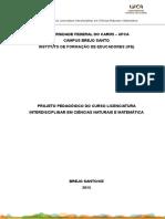 UFCA - IfE - Projeto Pedagóg- 2015