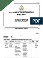 SILABUS FIQIH KELAS 5 SMT 1.doc