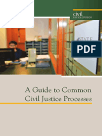 A Guide to Common Civil Justice Processes - Singapore
