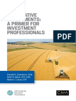 Alternative Investments- A Primer for Investment Professionals