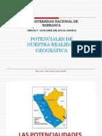 Potenciales de Nuestra Realidad Geográfica Semana V