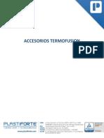 Anexo 6. Lista de Precios Referenciales Accesorios Termofusión