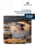 Working Holiday Product Brochure en 20171102