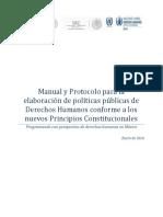 Manual Para La Elaboración de Políticas Públicas