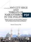 MARAWI CITY SIEGE AND THREATS OF NARCOTERRORISM IN THE PHILIPPINES