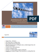 Mongolian Supply Chain Compatibility Mode