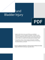 Urethral and Bladder Injury