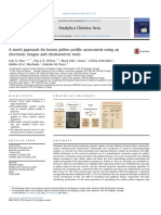 A Novel Approach for Honey Pollen Profile Assessment Using an Electronic Tongue and Chemometric Tools 2015 Analytica Chimica Acta