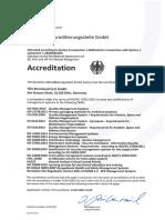 Accreditation DAkkS 2015-10-30