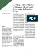 A Inteligencia Competitiva Modelando o Sistema de Informacao