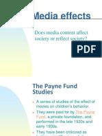 151 Media Effects