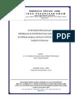 2. DOK (K) O & P Daerah Irigasi Rawa Teluk Ketapang Kab. Tanjab Barat