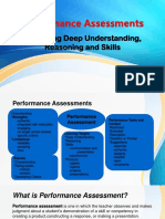 5 Performance Assessments