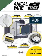 Sugatsune Machine Hardware Catalogue