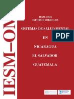 Nicaragua ElSalvador Guatemala WHO-AIMS Report2