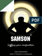 Samson Lighting Catalog 2018