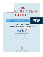 NAMP Meat Buyers Guide - Beef Only