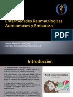 Enfermedades Autoinmunes y Embarazo Alejandro Jacob
