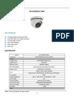 Catalogo Camara Domo 1080p Ds2ce56d1tirm