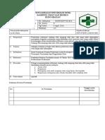 Sop Penyampaian Informasi Efek Samping Obat Dan Resiko Pengobatan