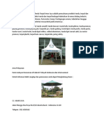 Jual Tenda Lipat Denpasar O819 O894 5549(CV TendaJakarta) Pembuatan Tenda Di Bali