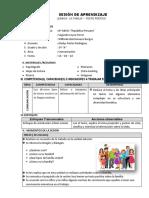 SESIÓN DE APRENDIZAJE 5° - MAYO.docx