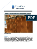 Leather Exports Data
