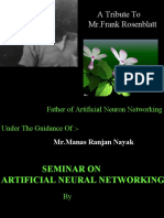 Artificial Neural Networking 1