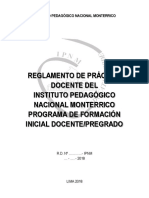 -Reglamento de Práctica 2018