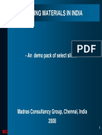 Building Materials Sector in India
